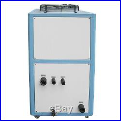10 Ton Air-cooled Industrial Chiller 30KW LCD 145L Water Tank Stainless Steel