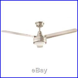 Home Decorators Collection Merryn Pointe 52 in LED Brushed Nickel Ceiling Fan
