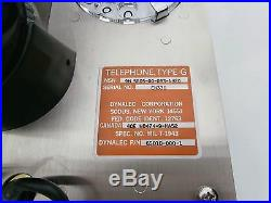 New Dynalec Heavy Duty Industrial Telephone Type G 65019 Stainless Steel