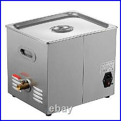 Ultrasonic Cleaner Stainless Steel 10L Industry Heated Heater With Timer Power